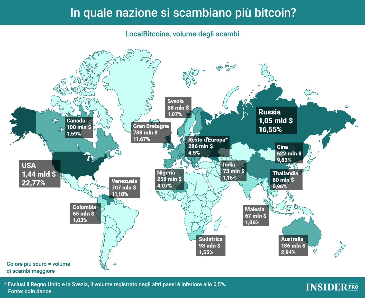 bitcoin in quale paese