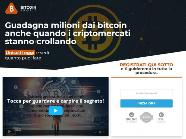 guadagni in Internet su bitcoin